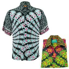 Regular Fit Short Sleeve Shirt Loud Originals Mandala Indian Pattern Print