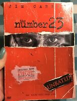 2007 The Number 23 DVD Unrated Jim Carrey
