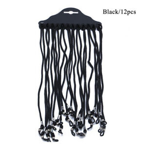 12Pcs cord lanyard string strap for glasses eyeglasses sunglasses loupes reading
