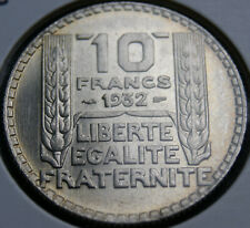 10 francs Turin Argent 1932 neuve
