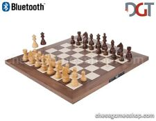 DGT BLUETOOTH WALNUT eBoard with TIMELESS pieces - Electronic chess - sensory