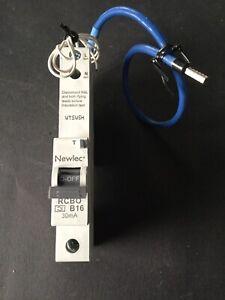 Newlec NLRCB1630BA B16 16A RCBO - New & Boxed