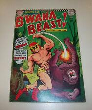 SHOWCASE B'WANA BEAST!  #66 BIRTH OF B'WANA BEAST  DC SILVER AGE - 1967 FN ??