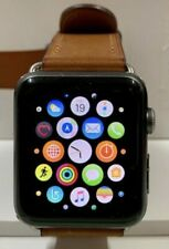 Apple Watch 7000 Series Model a1554 - Space Grey case stainless stell pin 42mm