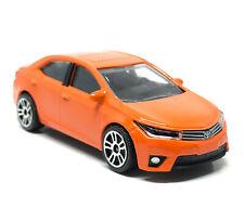 Majorette Toyota Corolla Altis Orange 1:61 (3 inches) 275D no Package