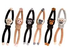 Keel Toys chattering   Hanging Monkey With Sound 46cm 6 Designs one supplied