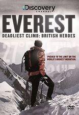 Everest Deadliest Climb: British Heroes [DVD][DVD-R]