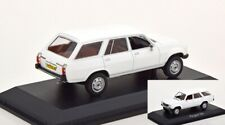 Peugeot 504 Break Dangel Alaska White 1:43 Norev 475443 Diecast