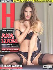 REVISTA H ANA LUCIA BLAKSLEY MAYO/MAY 2015 H PARA HOMBRES MEXICAN MAGAZINE NEW
