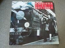 "Madonna Holiday RARE 12"" Single Train Sleeve"