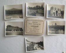 12 Real Photographs London England Set C W H Smith & Son