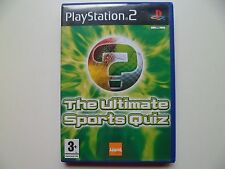 Ultimate Sports Quiz (Sony PLAYSTATION 2, 2005) testé