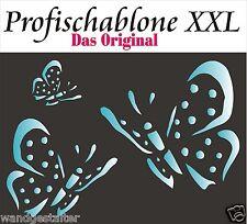 Malerschablone, Wandschablone, Malerschablonen, Schmetterlinge, Butterfly XXL