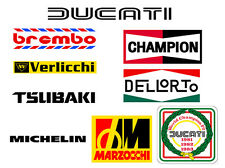 Ducati Motorcycle Graphics | Decals (Stickers)