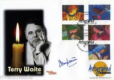 1998 Christmas AUTOGRAPHED EDITIONS fdc SIGNED Terry Waite