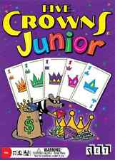 FIVE CROWNS JUNIOR - FUN KID STYLED RUMMY GAME EDUCATIONAL SET GAMES