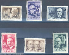 Belgium Sc#B573/78 Mint Never Hinged