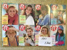 Magazine Ratgeber Frau und Familie,Jahrgang 1993(8 Hefte)Kochen/Backen,Gesundhei