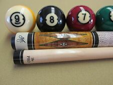 BOB MEUCCI BMC POOL CUE PRO SERIES ANGEL-1 PRO LEVEL PERFORMANCE 6 POINT $1200