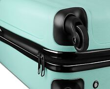 Ryanair EasyJet Hard Cabin 4 Wheels Spinner Trolley Luggage Suitcase Bag Case