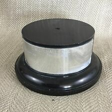 Vintage Trophy Plinth Stand Base Motor Racing Large 1980 Display