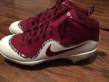 Nike Force Mike TROUT 4 PRO Baseball Metal Cleats Maroon Men's 8.5 [917920-661]