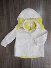 NEW W TAG $65 ZARA GIRLS OUTERWEAR TODDLER SZ 3/4 BEIGE YELLOW HOODIE JACKET