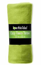 50 x 60 Soft Warm Fleece Blanket – Throw Blanket