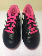Adidas TRX FG Toddler Soccer Cleats Futbal Boots Boys Girls US 11 K Pink Black