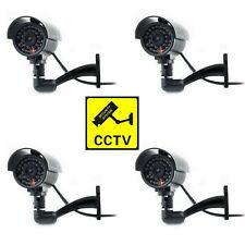Dummy CCTV Camera Outdoor Indoor Fake CCTV Security Cam Imitation Flashing LED