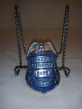 Vintage Pinkerton Sergeant Security Services Badge #5476 Obsolete