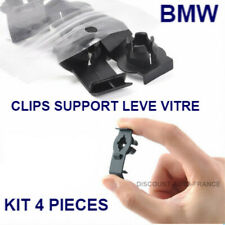 4x CLIPS SUPPORT GUIDE LEVE VITRE BMW X5 E53