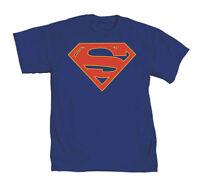DC Comics Supergirl TV Symbol Mens Blue T-Shirt