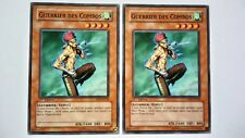 Lot 2 Cartes Yu Gi Oh Guerrier Des Combos CDIP-FR028