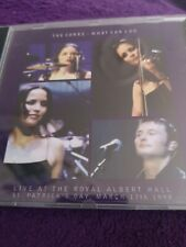 The Corrs - What Can I Do - Live Royal Albert Hall St Patricks Day CD Single