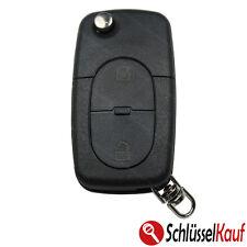 Audi Klappschlüssel 2 Tasten Gehäuse CR20 A3 A4 A5 A8 Autoschlüssel 2020 2032