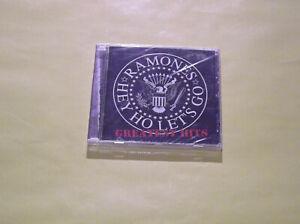 CD NEUF THE GREATEST HITS THE RAMONES HEY HO LETS GO