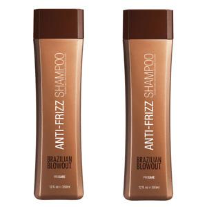 Brazillian Blowout Acai Anti-Frizz Shampoo 12 fl oz / 350ml ( Pack of 2 )