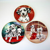 Princeton Dalmatian, Three Alarm Fire, Firehouse Frolic Linda Picken Plate Lot