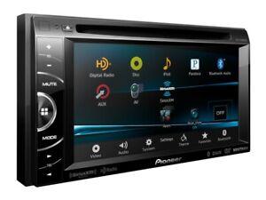 Pioneer AVH-X3500BHS Used w/ Harness HD Radio Double Din