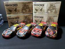 2005 Actin/RCCA 1:24th Jeff Gordon Milestones Set 4 Cars