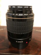 Canon zoom EF  80-200mm ultrasonic lens with case