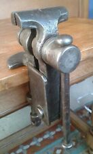 Antique Table Baby Vise Jewlers Jaws Watchmaker Artisan Carpenter Cabinetmaker