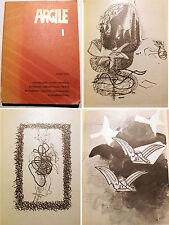 ARGILE/N°1/RARE REVUE EDITE PAR MAEGHT/1973/BRAQUE/CHAR/SZENES/HOFMANNSTAHL