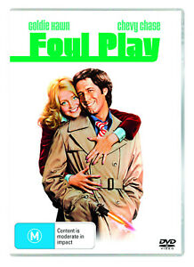 BRAND NEW Foul Play (DVD, 1978) R4 Movie Chevy Chase   Goldie Hawn