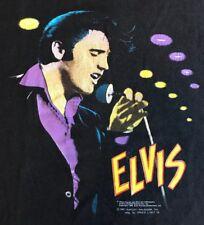 Vintage Elvis Presley Harley Davidson Shirt Original 1987 Speed Limit 70 Medium