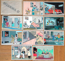 JOOST SWARTE • SÉRIE DILEMMA • 10 CARTES POSTALES • NEUVES • 1987 • POSTCARD