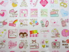 2 pages Korean love stickers! Cute planner stickers, kawaii boyfriend girlfriend