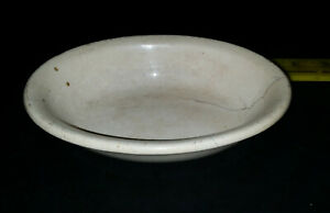 Antique Ironstone China Warranted small oval Bowl