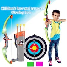Kids Bow Arrow Toy Basic Kit Archery Game Gift Outdoor Target Hunting Shooting